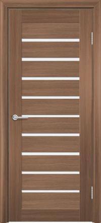 Межкомнатная дверь Содружество царговая (ПВХ) S-8 Орех королевский