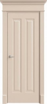 Межкомнатная дверь Офрам Прима-22 кремовая глухое полотно