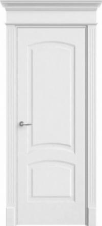 Межкомнатная дверь Офрам Верона-2 белая глухое полотно