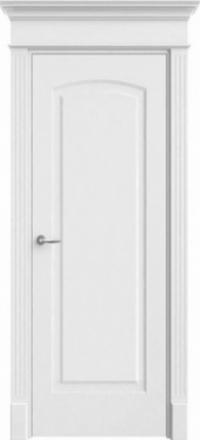 Межкомнатная дверь Офрам Верона белая глухое полотно