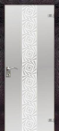 Межкомнатная дверь Дариано Акцент стеклянная
