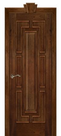 Межкомнатная дверь Дариано Барон Красное дерево глухая