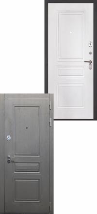Стальная входная дверь Интекрон Брайтон ФЛ-243-м белая матовая