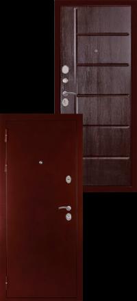 Металлическая входная дверь Сударь С 503 венге