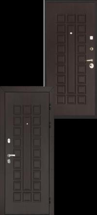 Металлическая входная дверь Regidoors Консул венге-венге