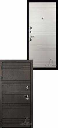 Металлическая входная дверь Regidoors Министр Горький шоколад —  Кантри горизонт