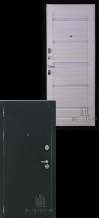 Металлическая входная дверь Regidoors Президент Х7 антик хамелеон-сандал белый