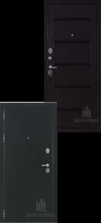 Металлическая входная дверь Regidoors Президент Х7 антик хамелеон-темный венге