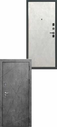 Металлическая входная дверь Regidoors Прогресс Темный бетон — Светлый бетон