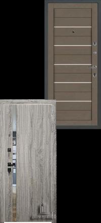 Металлическая входная дверь Regidoors Tesla Грей Софт — Софт Бьянка