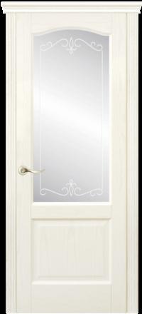 Межкомнатная дверь La Porte New Classic 200-4 Ясень Карамель матирование Рада