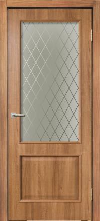 Межкомнатная дверь La Porte Rossi 320 Карамель остекленная
