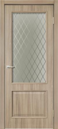 Межкомнатная дверь La Porte Rossi 320 Шимо остекленная