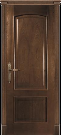 Межкомнатная дверь La Porte Classic 300-2 красное дерево глухое полотно