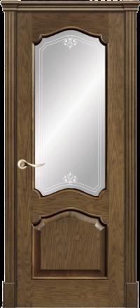 Межкомнатная дверь La Porte Classic 300-5 Дуб миндаль матирование Аллегро