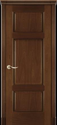Межкомнатная дверь La Porte Classic 300-6 красное дерево глухое полотно
