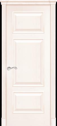 Межкомнатная дверь La Porte Classic 300-6 Ясень Карамель глухое полотно