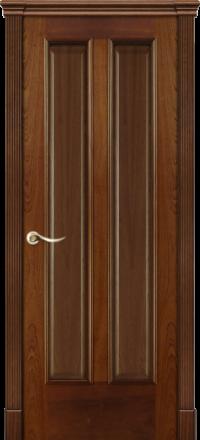 Межкомнатная дверь La Porte Classic 300-8 красное дерево глухое полотно