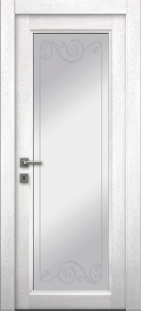 Межкомнатная дверь La Porte Master 400-1 Аляска контур Флора