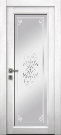 Межкомнатная дверь La Porte Master 400-1 Аляска матирование Милена