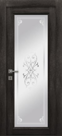 Межкомнатная дверь La Porte Master 400-1 Конго матирование Милена