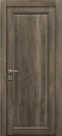 Межкомнатная дверь La Porte Master 400-1 Табакко глухое полотно