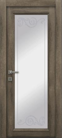 Межкомнатная дверь La Porte Master 400-1 Табакко контур Флора