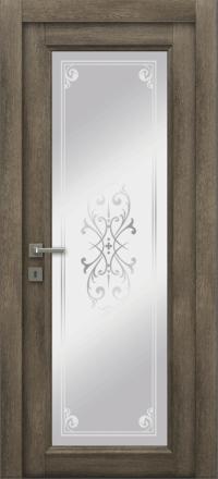 Межкомнатная дверь La Porte Master 400-1 Табакко матирование Милена