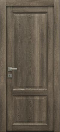 Межкомнатная дверь La Porte Master 400-2 Табакко глухое полотно
