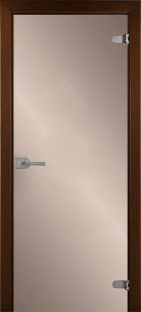Межкомнатная дверь La Porte Glass 500-1 бронзовое стекло