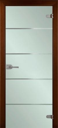 Межкомнатная дверь La Porte Glass 500-2 выбеленное стекло