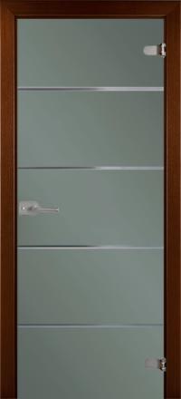 Межкомнатная дверь La Porte Glass 500-2 стекло грей