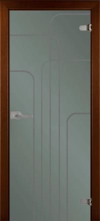 Межкомнатная дверь La Porte Glass 500-3 стекло грей