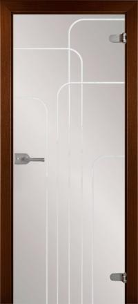 Межкомнатная дверь La Porte Glass 500-3 прозрачное стекло
