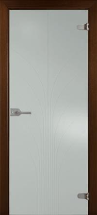 Межкомнатная дверь La Porte Glass 500-4 выбеленное стекло