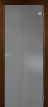 Межкомнатная дверь La Porte Glass 500-4 стекло грей