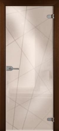 Межкомнатная дверь La Porte Glass 500-5 бронзовое стекло