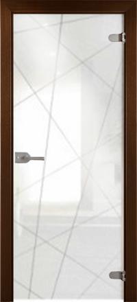 Межкомнатная дверь La Porte Glass 500-5 прозрачное стекло