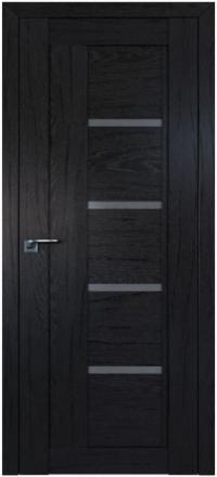 Межкомнатная дверь ПрофильДорс 2.08XN Дарк браун стекло графит