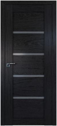 Межкомнатная дверь ПрофильДорс 2.09XN Дарк браун стекло графит