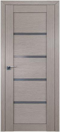 Межкомнатная дверь ПрофильДорс 2.09XN Стоун стекло графит