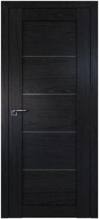 Межкомнатная дверь ПрофильДорс 2.11XN Дарк браун стекло графит