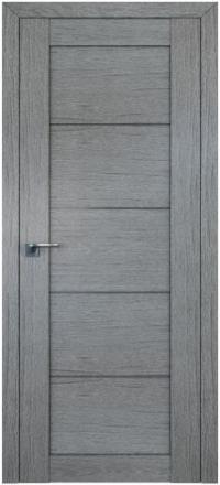 Межкомнатная дверь ПрофильДорс 2.11XN Грувд серый стекло графит