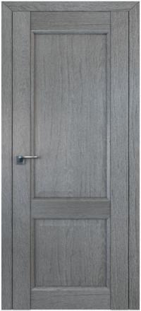 Межкомнатная дверь ПрофильДорс 2.41XN Грувд серый глухое полотно