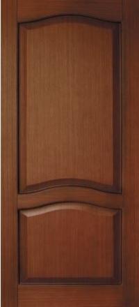 Межкомнатная дверь Левша Классика №4 Орех глухая
