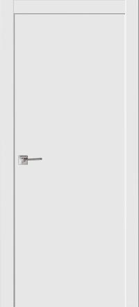 Межкомнатная дверь La Porte Modern 100-1 Эмаль белая глухое полотно