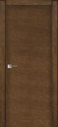 Межкомнатная дверь La Porte Modern 100-1 Дуб миндаль глухое полотно