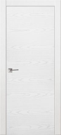 Межкомнатная дверь La Porte Modern 100-1 Ясень бланко глухое полотно