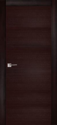 Межкомнатная дверь La Porte Modern 100-1 Ясень браун глухое полотно