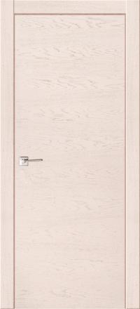 Межкомнатная дверь La Porte Modern 100-1 Ясень Карамель глухое полотно
